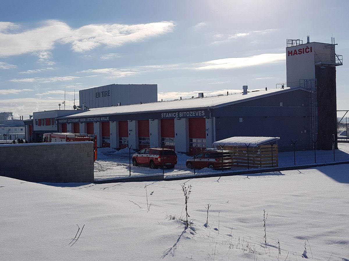 výstavba nové požární stanice